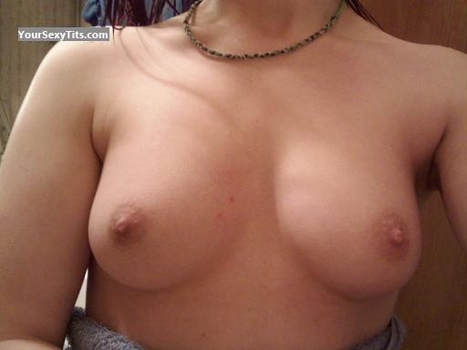 Tit Flash: Medium Tits - Debra from United States