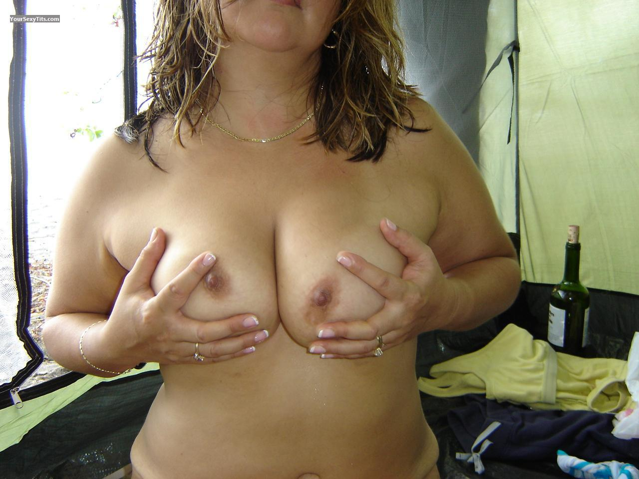 Tit Flash: Medium Tits - Brionna from Costa Rica