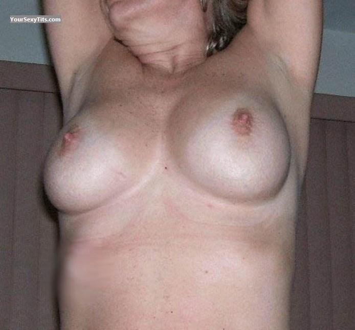 Tit Flash: Medium Tits - Rhonda from United States