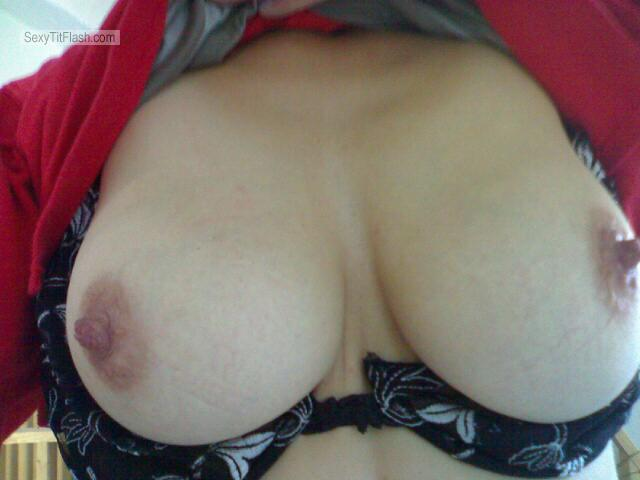 Medium Tits Of My Wife Yvonne