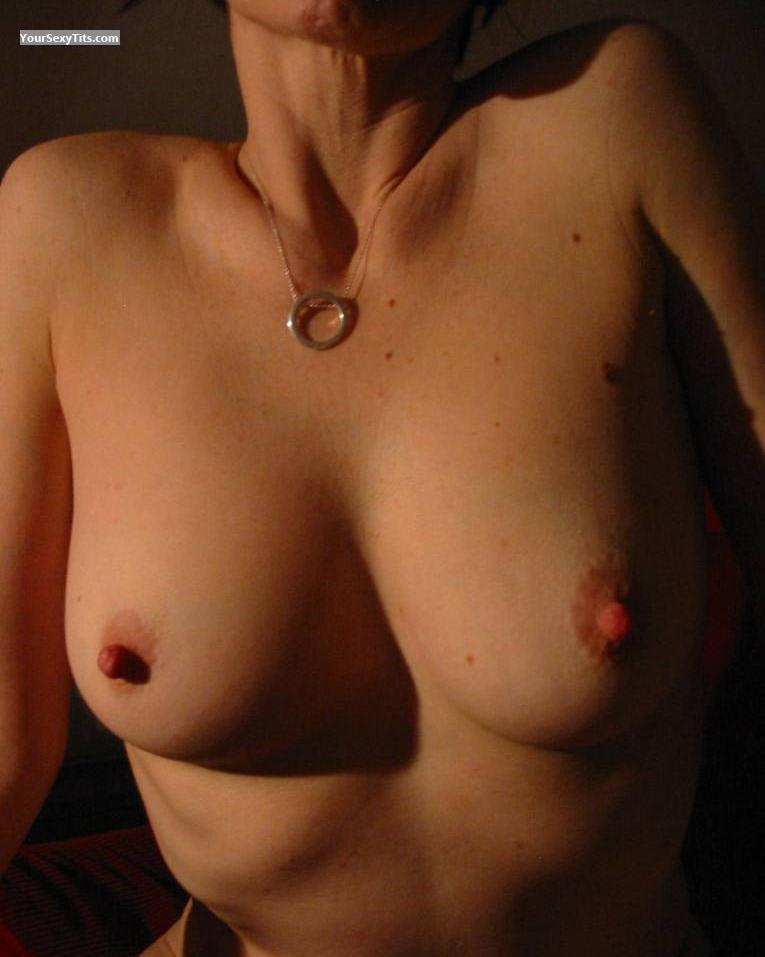 Tit Flash: Medium Tits - JT from United Kingdom