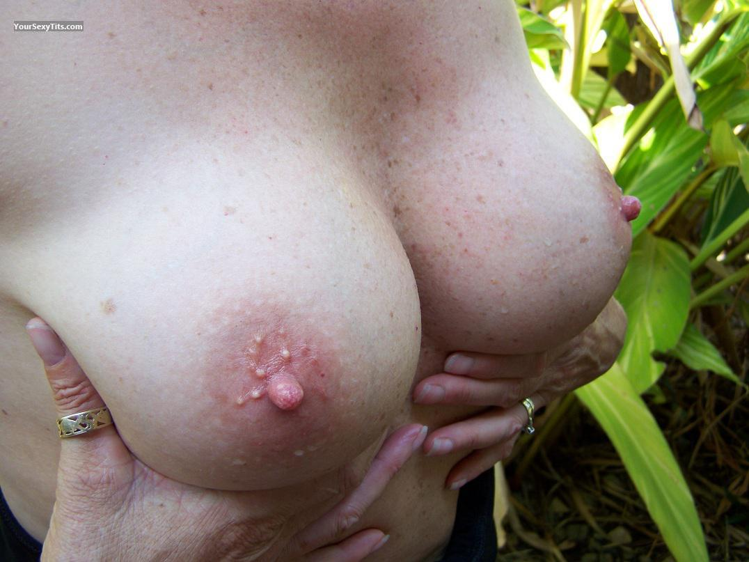 Tit Flash: My Medium Tits - Chrissy from Australia
