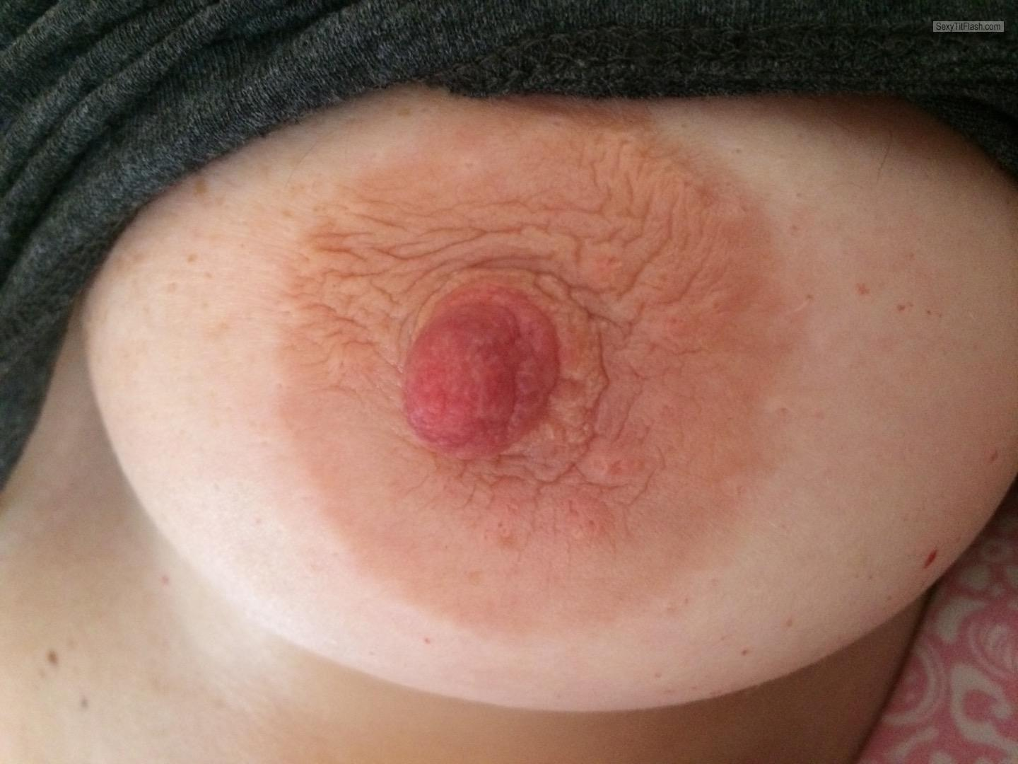 Medium Tits Of My Wife Selfie by Sexy Wife
