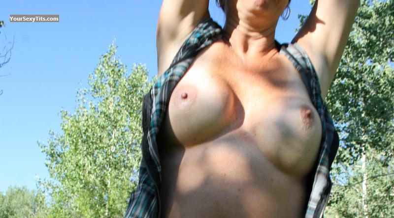Medium Tits Of My Wife Leeann