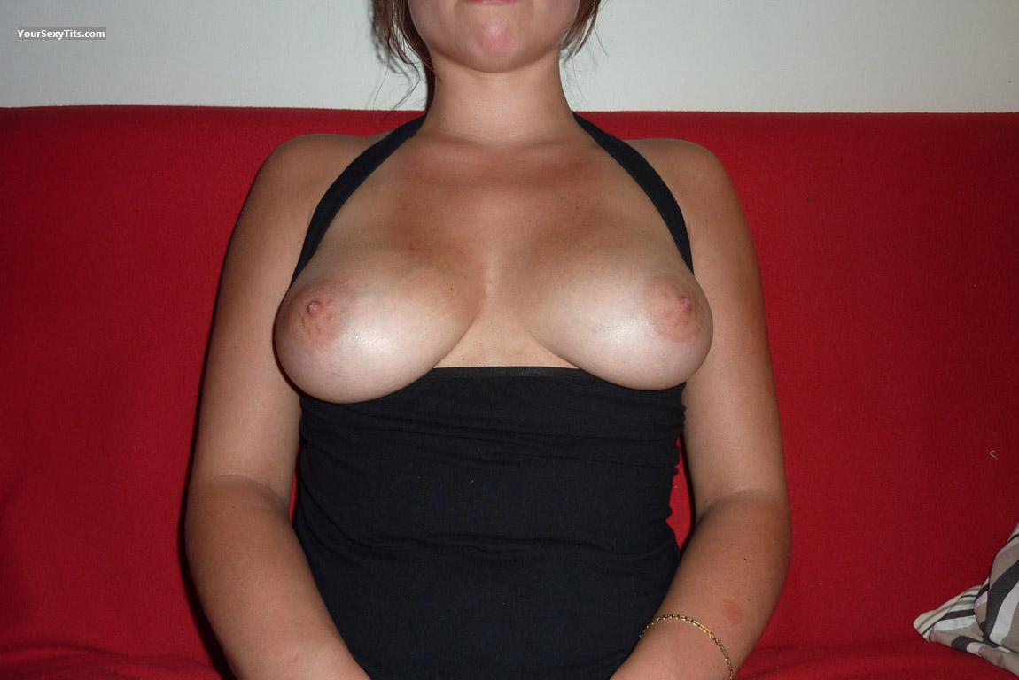 Tit Flash: Medium Tits - Orely from France