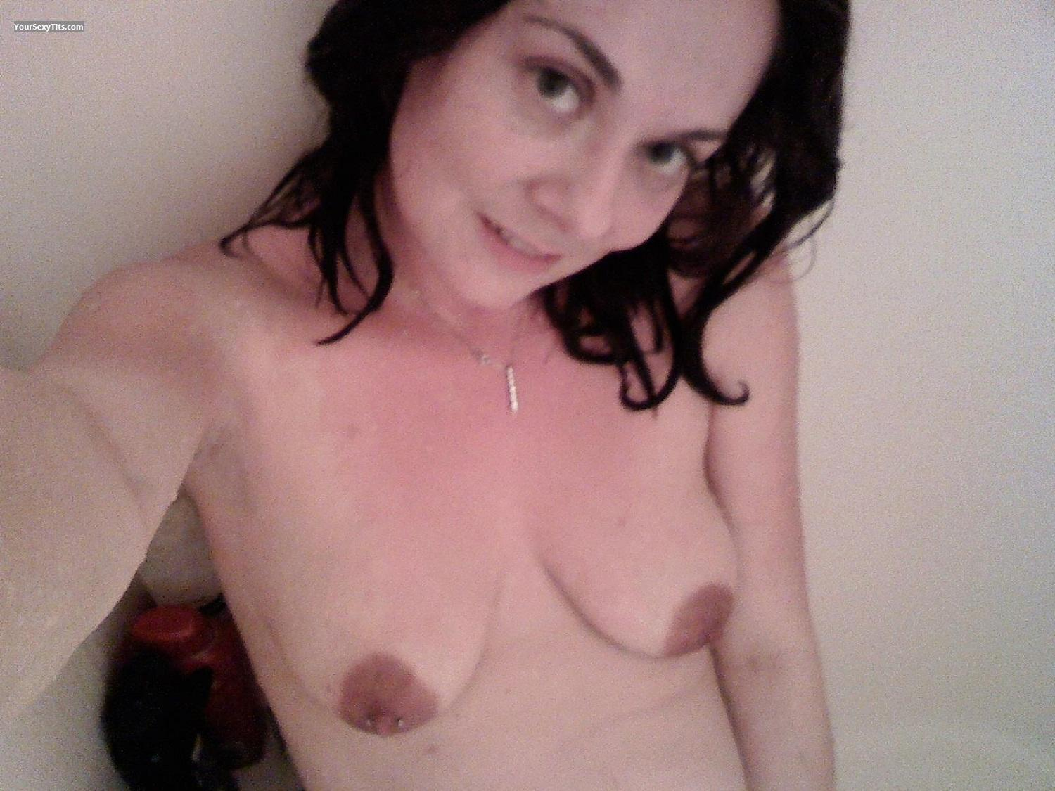 My Medium Tits Topless Selfie by Staci
