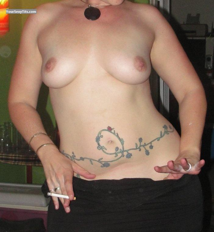 Tit Flash: Medium Tits - Hottie from South Africa