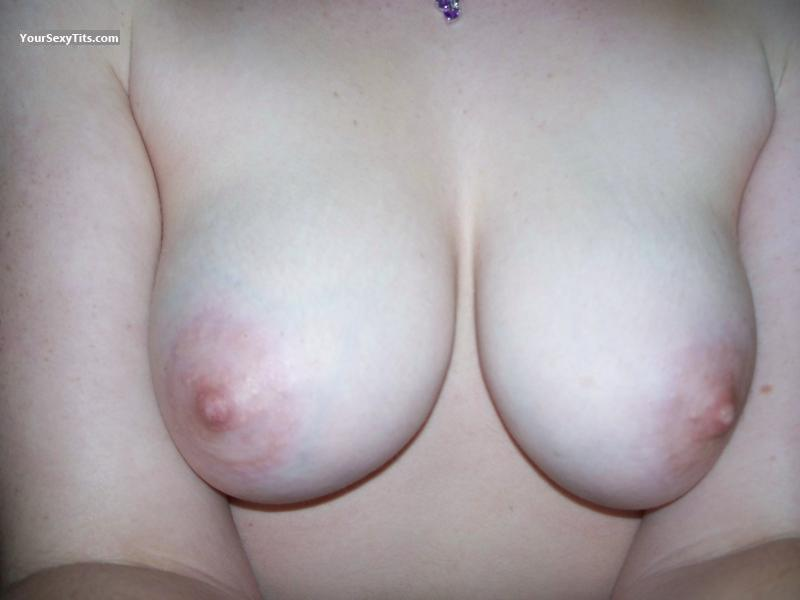 Tit Flash: My Medium Tits (Selfie) - Kim from United States