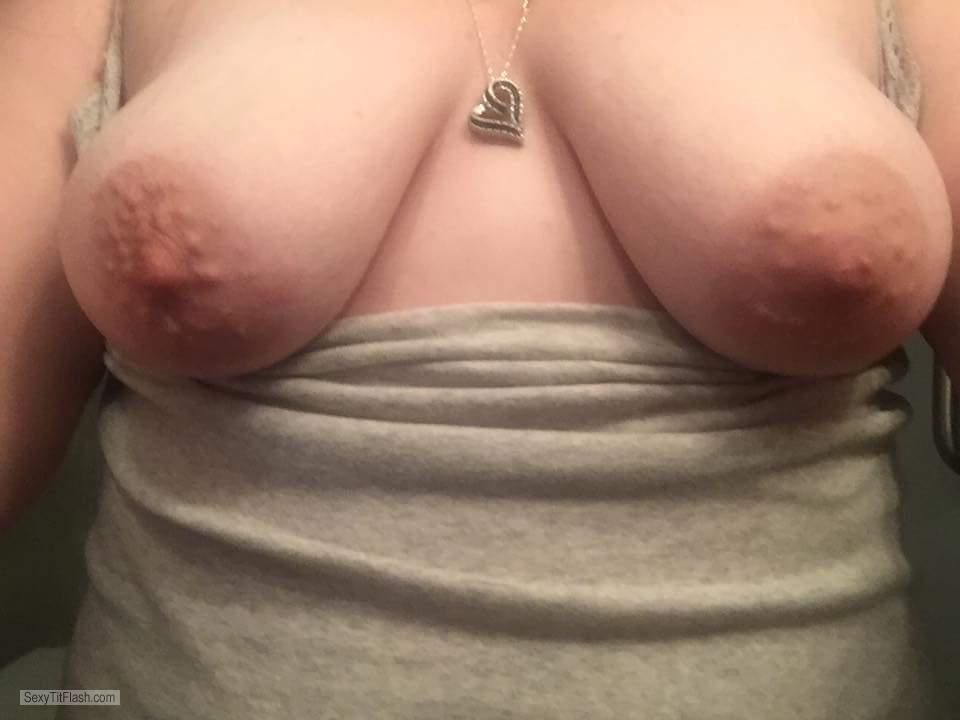 Medium Tits Of My Girlfriend My Milf Again