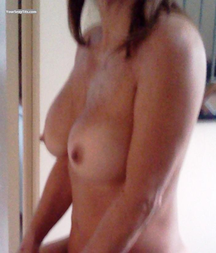 Tit Flash: My Coworker's Medium Tits - ELISSA from Uruguay