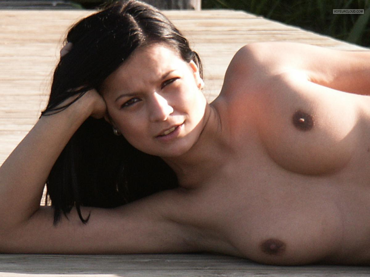 Small Tits Of My Ex-Girlfriend Topless Susanne
