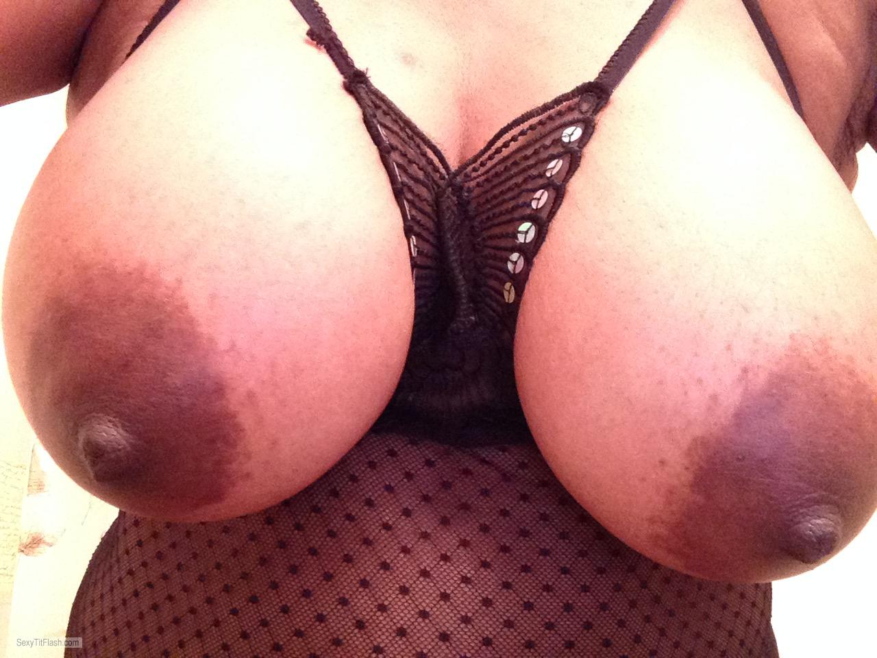 My Medium Tits Selfie by Black Diamond