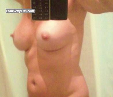 Tit Flash: My Medium Tits (Selfie) - Babe from United States