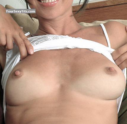 Tit Flash: Medium Tits - Natasha from Australia
