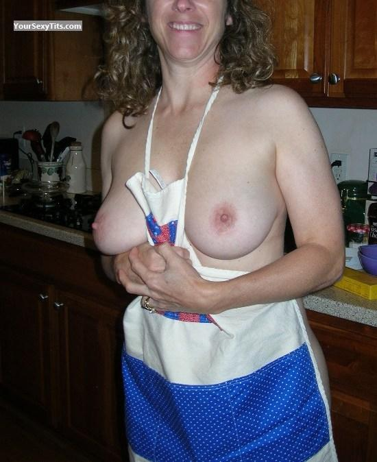 Tit Flash: Medium Tits - Kay4you68 from United States