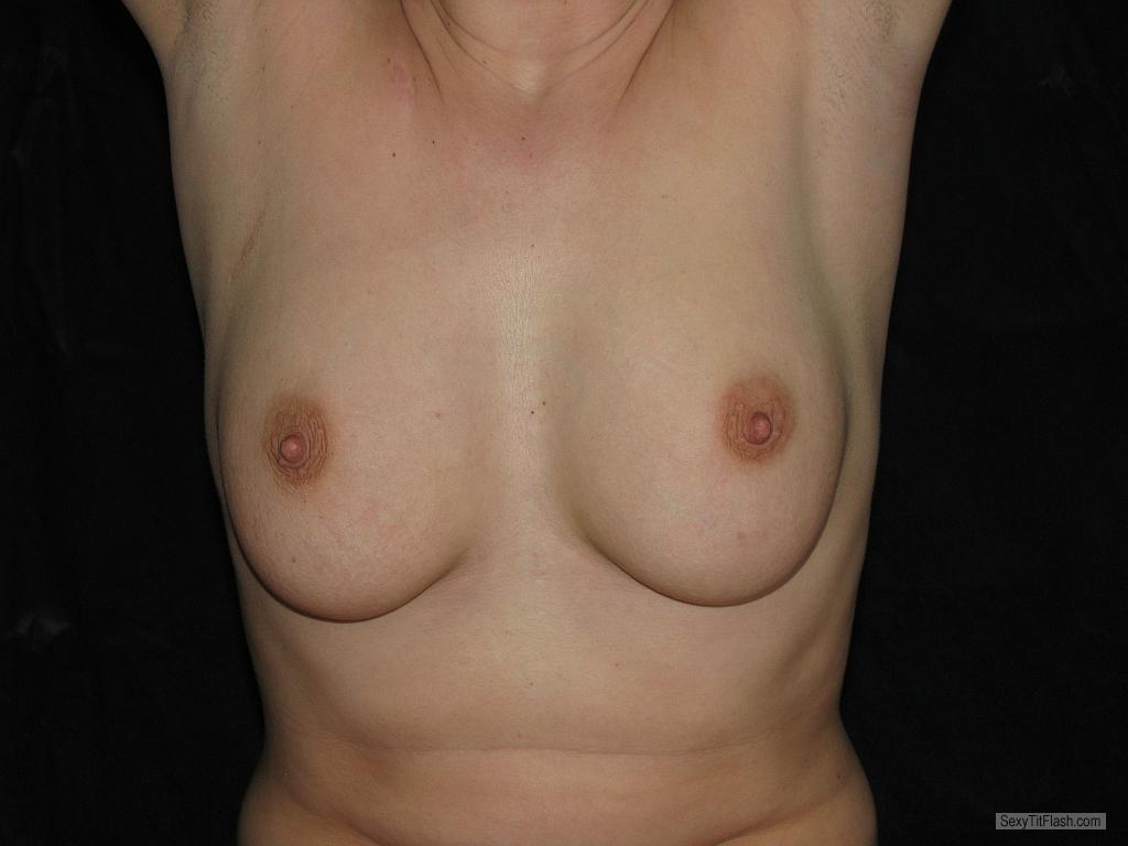 Tit Flash: My Friend's Medium Tits - Alena from Czech Republic