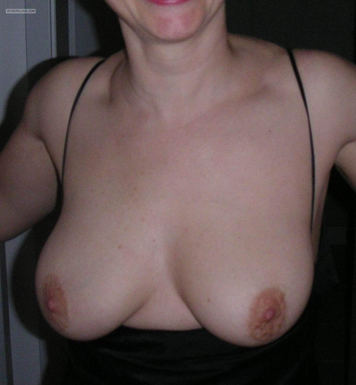 Tit Flash: My Medium Tits - Liz67 from United States