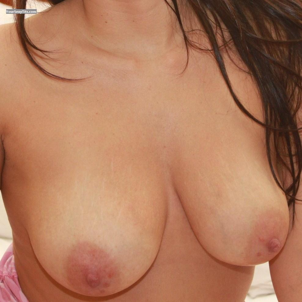 Tit Flash: Medium Tits - Tetas from United States