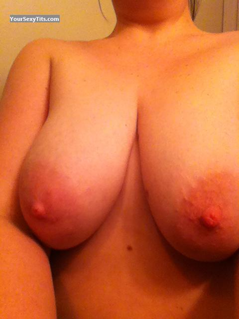 Medium Tits Of My Wife Selfie by Rik