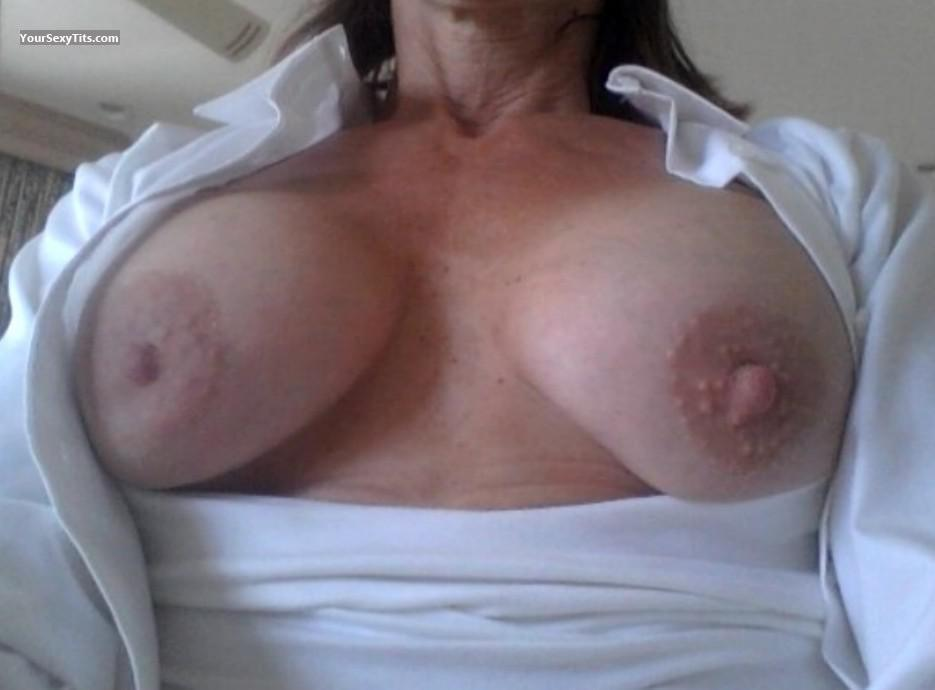 Tit Flash: My Coworker's Medium Tits (Selfie) - Brandnew from United States