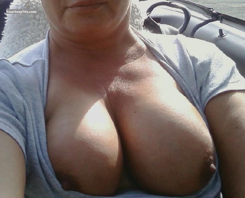 My Medium Tits Selfie by Gushing Gramma