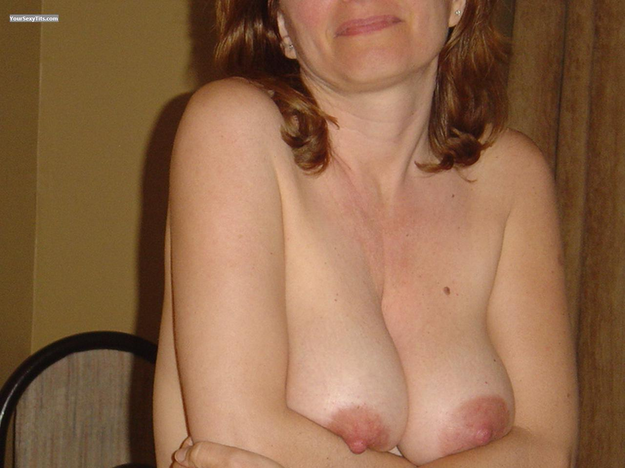 Tit Flash: Medium Tits - Nada from United States
