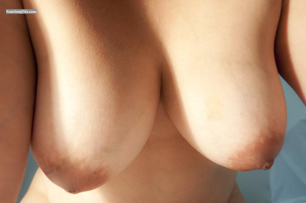 Tit Flash: Wife's Medium Tits - Great_tits from Brazil