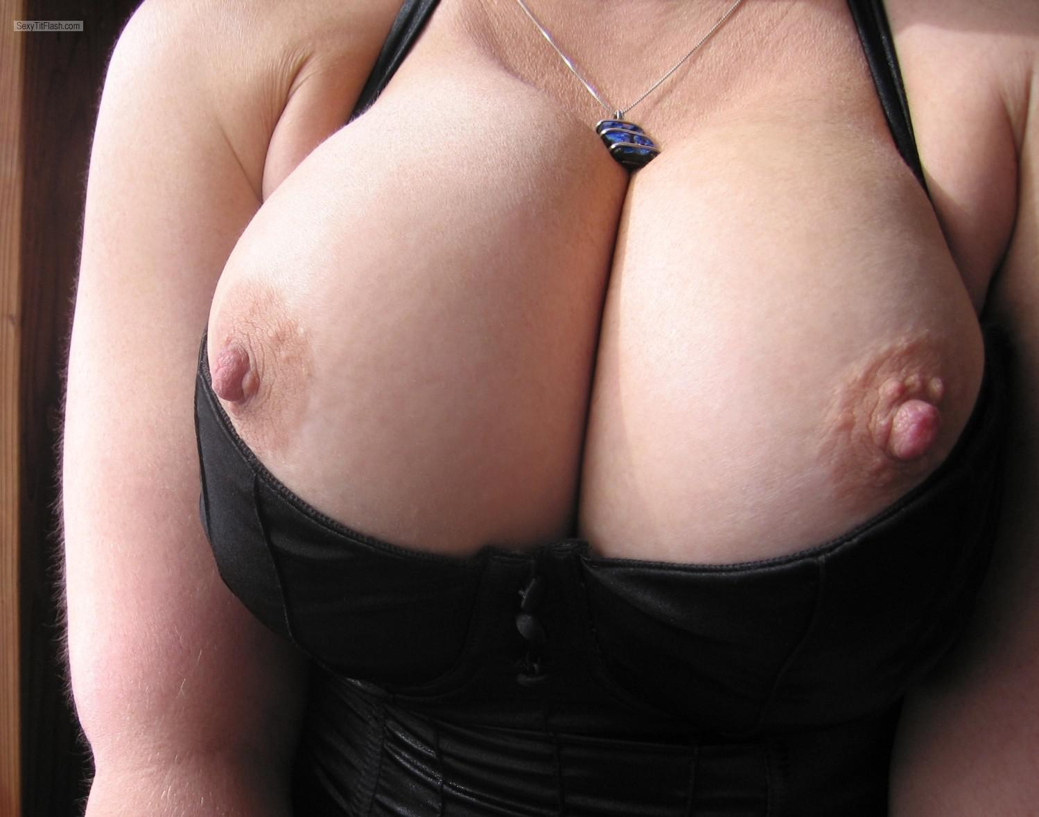 My Very big Tits Faans Flasher