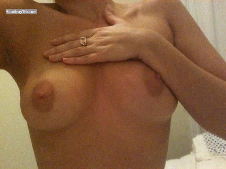 Tit Flash: My Medium Tits (Selfie) - Fontain from United States