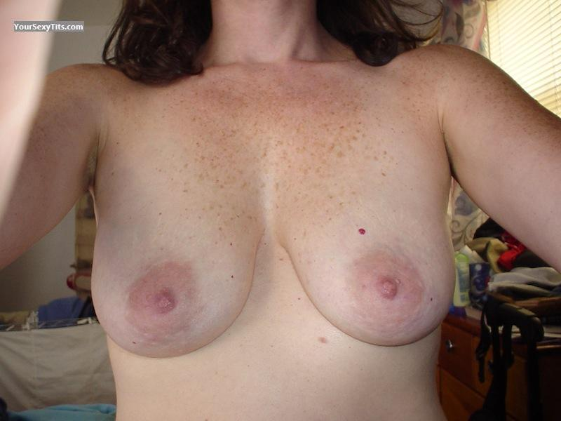 Tit Flash: My Medium Tits (Selfie) - WCB from United States