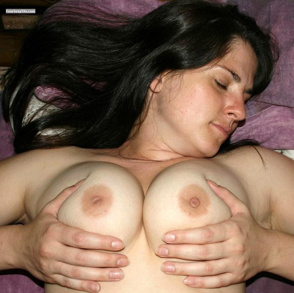 Tit Flash: Medium Tits - Topless Centcpl82 from South Africa