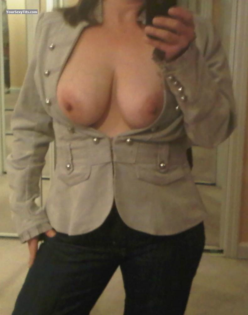 My Medium Tits Selfie by Littlenewbie