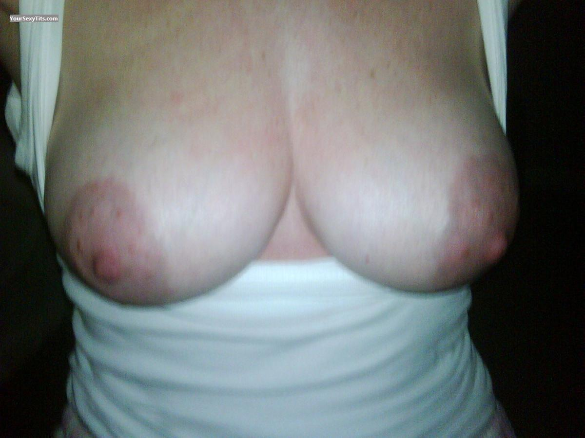 Tit Flash: My Medium Tits (Selfie) - Sexy Teacher from Canada
