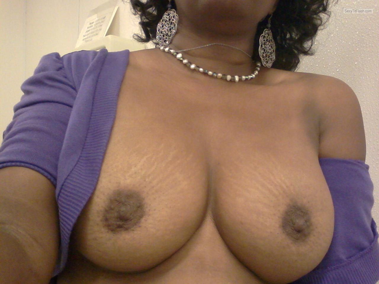 Medium Tits Of My Wife Selfie by Samantha