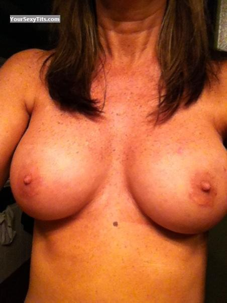 Medium Tits Of My Wife Selfie by Wifey