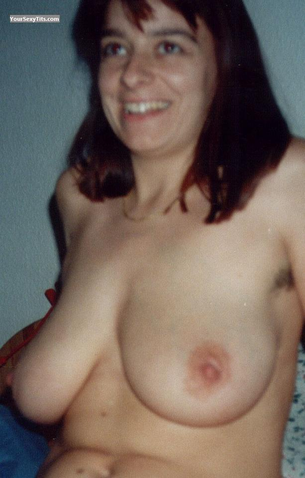 Tit Flash: Medium Tits - Jirstin from Germany