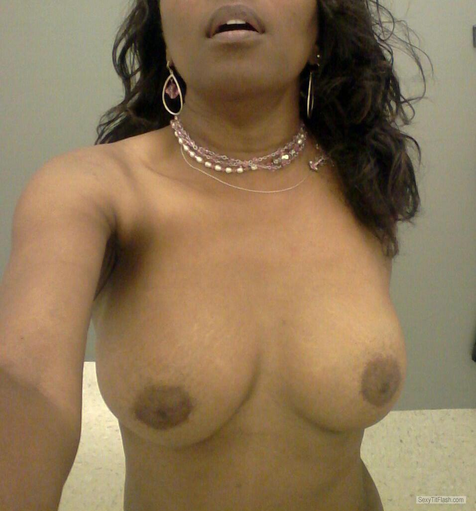 Tit Flash: My Small Tits (Selfie) - Samantha from United States
