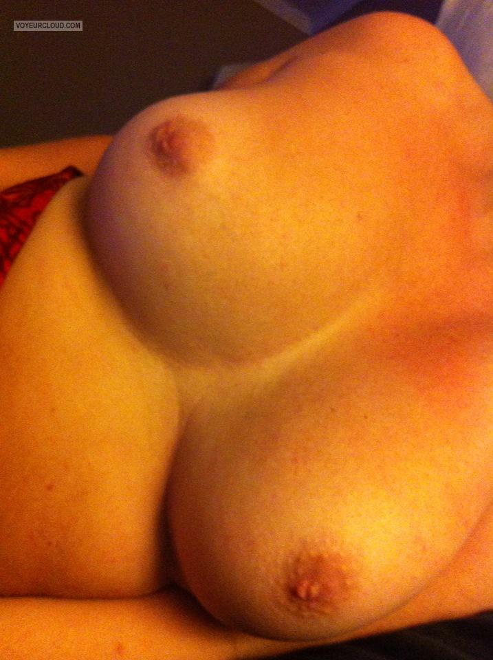 Tit Flash: My Medium Tits - Lola from United States
