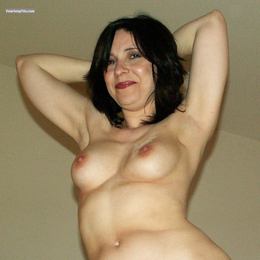 Tit Flash: My Friend's Medium Tits - Topless Debby from United States