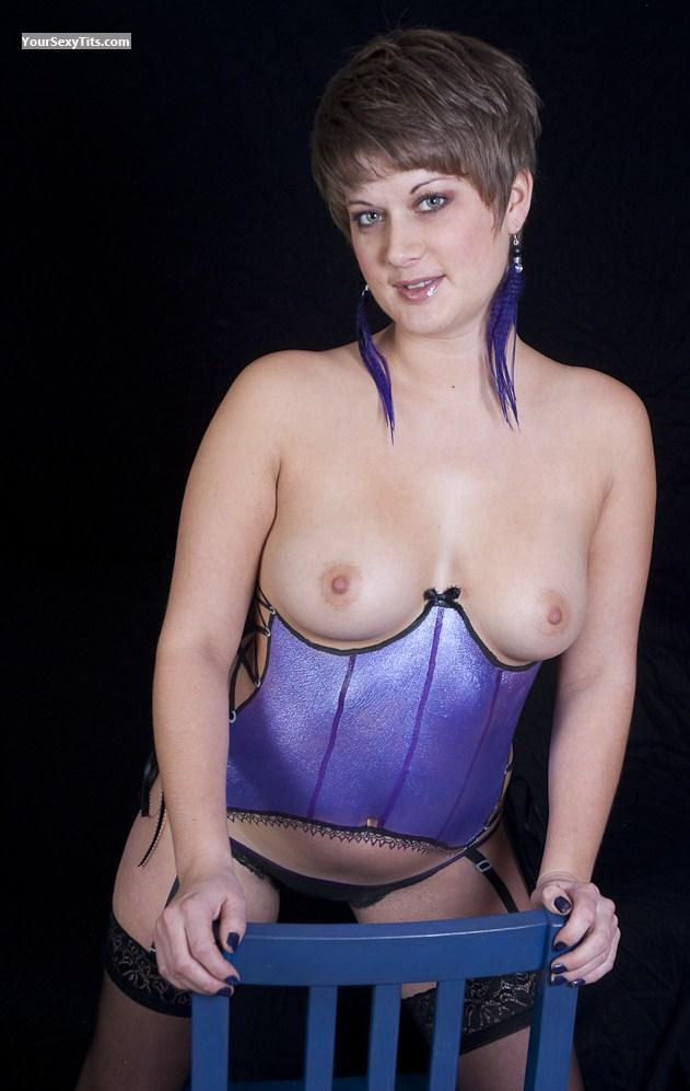 Medium Tits Topless Body Painted Cutie