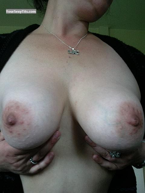 Tit Flash: My Medium Tits (Selfie) - Mf69 from United Kingdom