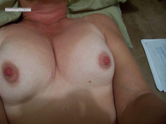Tit Flash: My Medium Tits (Selfie) - Sweetie from Canada