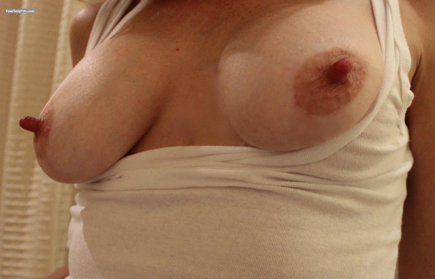 Big Nipples on Small Girl With Small Tits - Free Porn