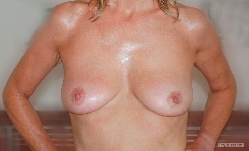 Tit Flash: My Medium Tits - Josephine from United States