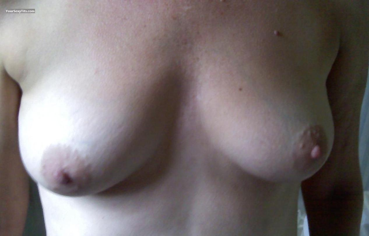 Tit Flash: Medium Tits - Baby from United States