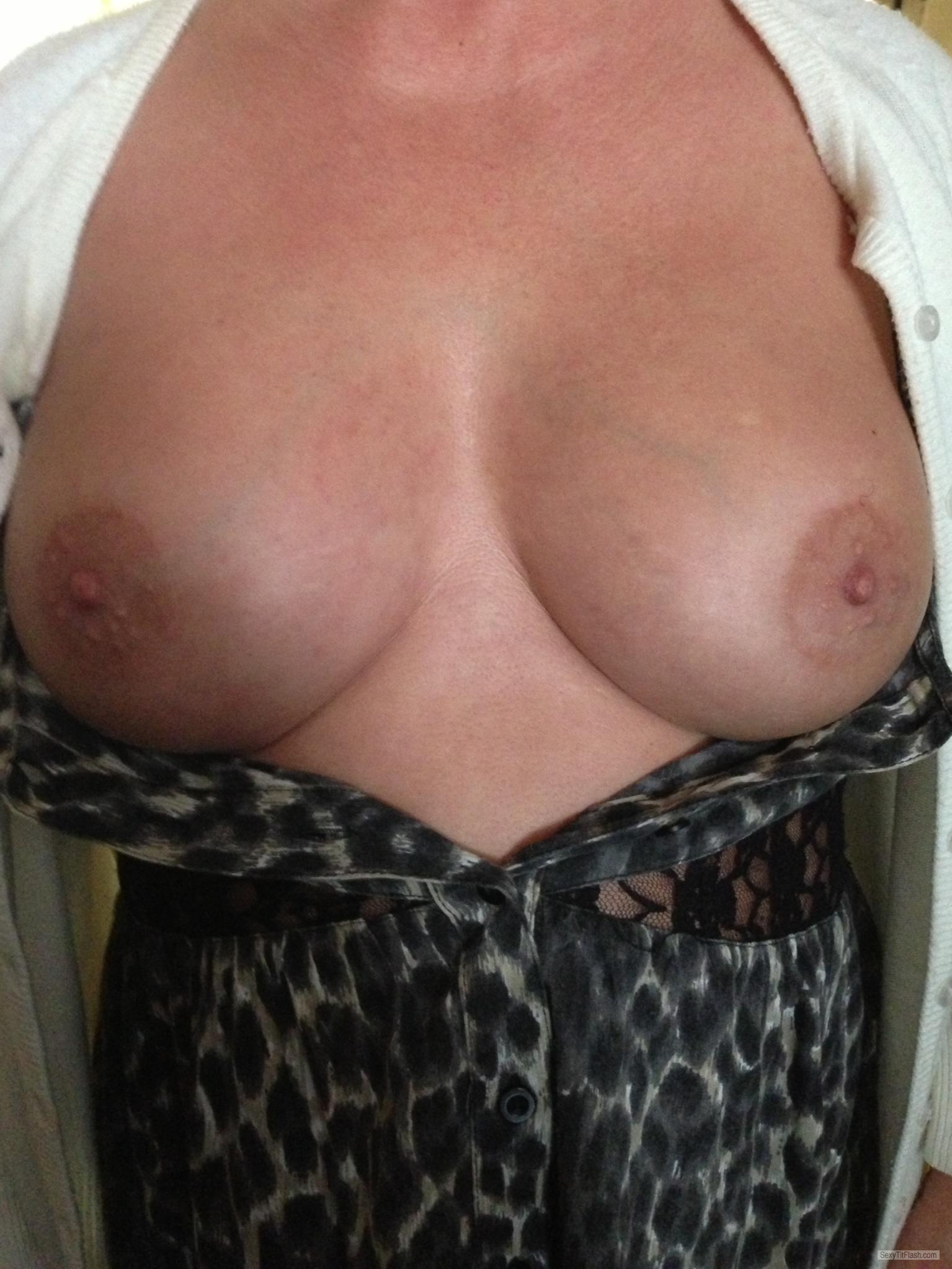 Medium Tits Of My Wife Elizabeth