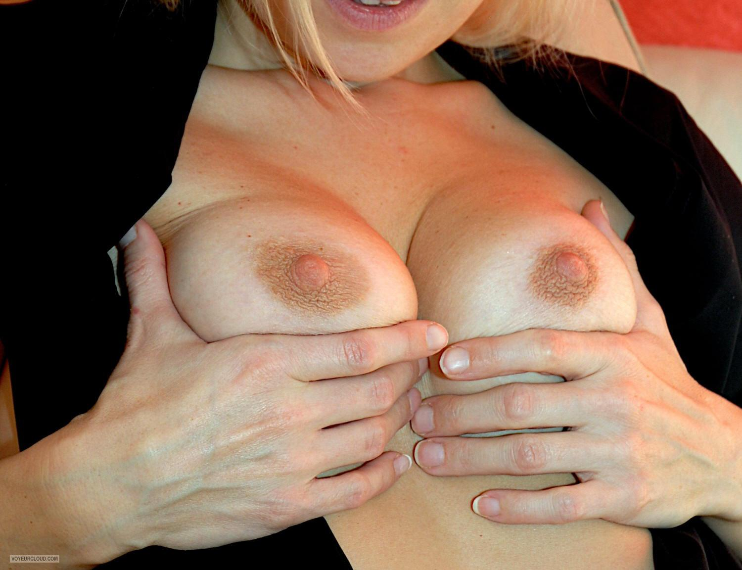 Medium Tits Of My Wife Caren