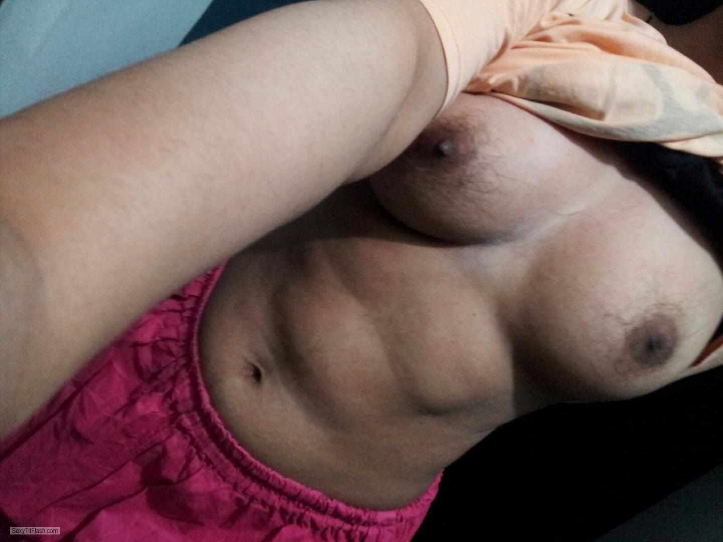 My Medium Tits Selfie by Bunty Ass