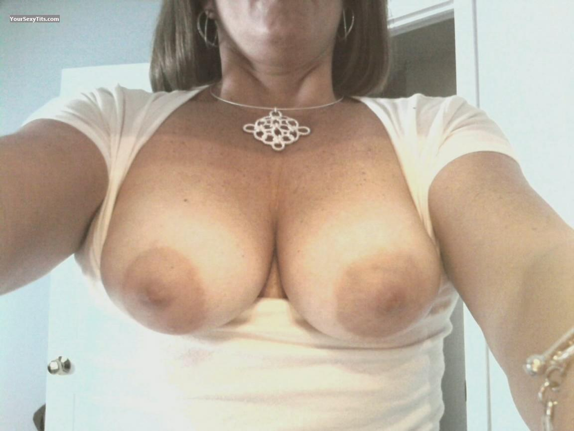 Tit Flash: My Medium Tits (Selfie) - Drewsxxx from United States