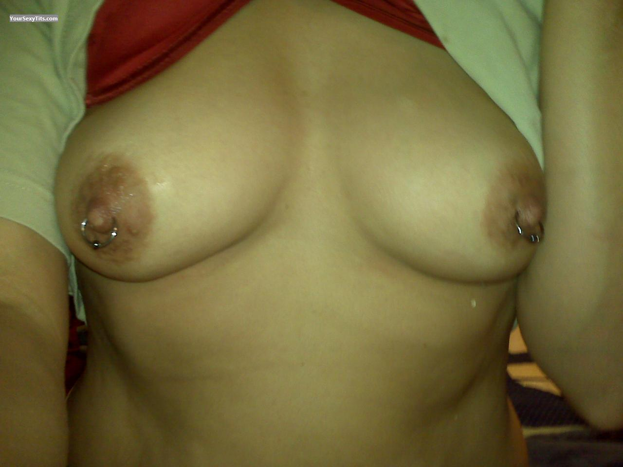 My Medium Tits Selfie by Nipples